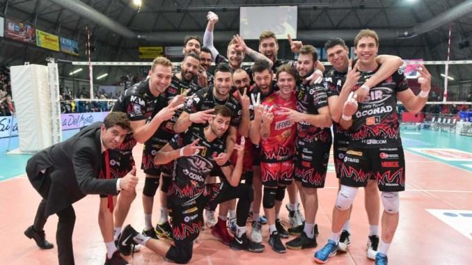 Grande vittoria della Sir Conad Perugia, quarta semifinale scudetto