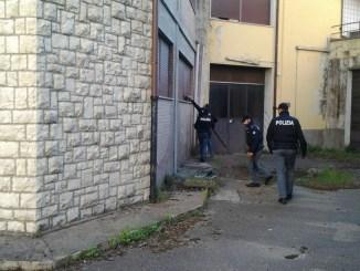 Perugia, Blitz della Polizia all'ex Telecom, nessuna presenza abusiva