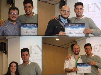 Delegazione Lega Nord Umbria a scuola di politica a Verona