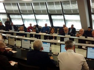 Comitato istituzionale Umbria, Marini, priorità edifici scolastici e opere pubbliche
