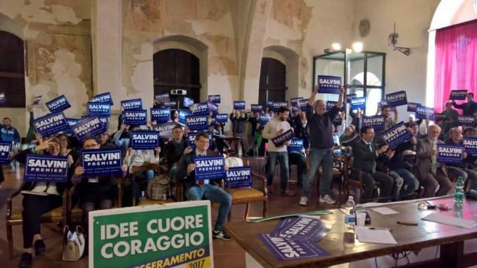 Primo congresso Lega Nord Umbria, le mozioni, gli interventi e i delegati