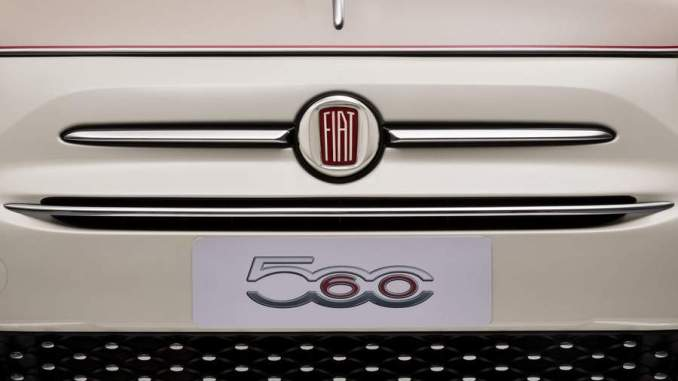 Fiat 500 60th anniversary, satiri auto