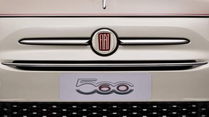 Fiat 500 60th anniversary, satiri auto