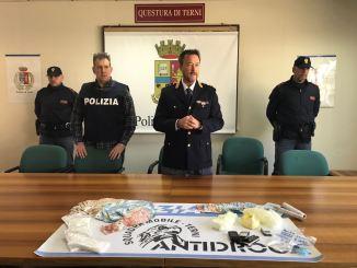 Terni, operazione antidroga Polizia, due arresti per spaccio e due denunce