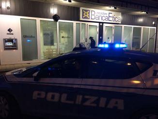 Perugia, tentato furto a bancomat della Banca Popolare Etica