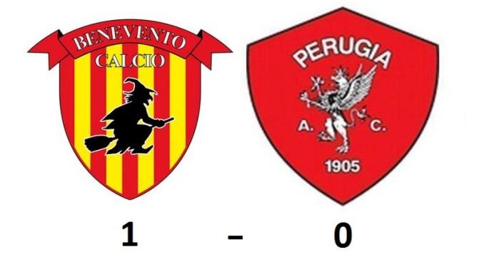 L'1-0 subito a Benevento lascia ai Grifoni ancora speranze di accedere alla finale dei play-off