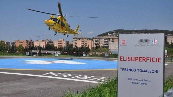 Incidente stradale a Rivotorto d'Assisi, è grave automobilista di 53 anni