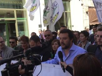 Matteo Salvini vince le primarie della Lega Nord, in Umbria il 95 per cento