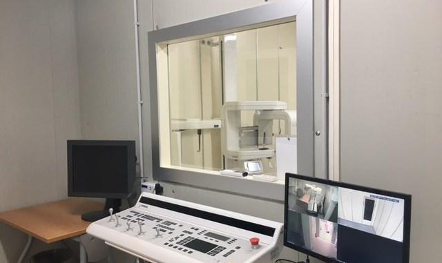 Post sisma a Norcia allestito nuovo modulo radiologia