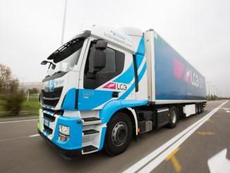 LC3 trasporti con i truck in aiuto dei bambini colpiti da terremoto