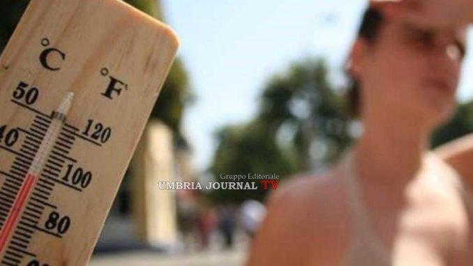 Ritorna il grande caldo, Perugia tra le città dal bollino rosso