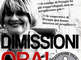 CasaPound su lettera pro Caritas a prefetto, Edi Cicchi si deve dimettere