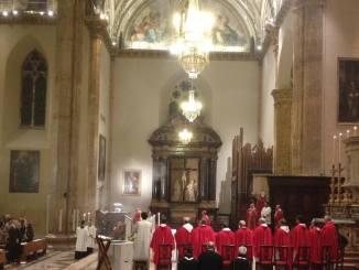 Perugia, Celebrata in cattedrale le Veglia di Pentecoste