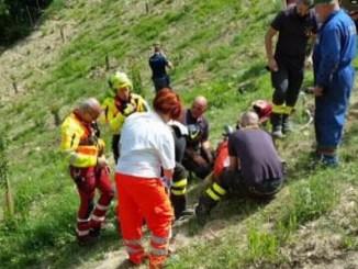 Incidente con il trattore, un ferito a Fratticciola Selvatica