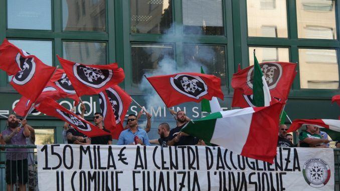 CasaPound, 47 accademici chiedono no alla manifestazione