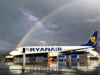 Aeroporto, per maltempo, Ryanair non atterra, volo per Trapani stasera