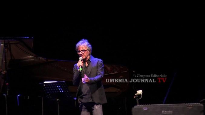 Umbria Jazz, Curreri ricorda l'amico Lucio Dalla ma parla anche di Vasco Rossi