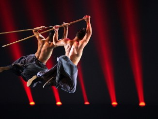 Festival dei 2 Mondi, Jackie Chan's Long Yun Kung fu troupe 11 Warriors