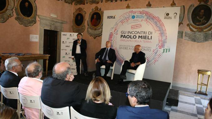 Incontri di Paolo Mieli Ministro Minniti al Festival dei due mondi