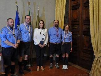 Tra terra e cielo Catiuscia Marini ringrazia gli scout per l'iniziativa in Umbria