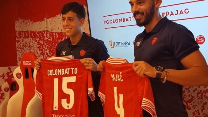 Perugia Calcio, Marko Pajac e Santiago Colombatto si presentano