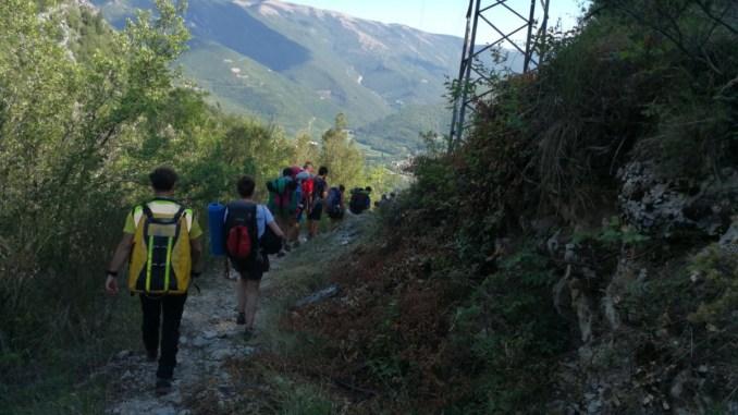 Scout dispersi, recuperati dal soccorso alpino e speleologico Umbria