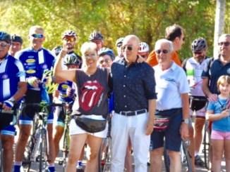 Camminata e pedalata solidale a Perugia, c'era anche Carmine Camicia