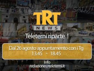 Riapre Teleterni, direttore è Gigi Scardocci, ex Rai