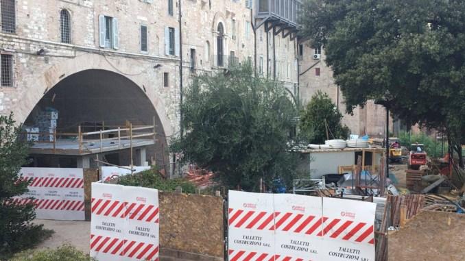 Italia Nostra interviene sugli Arconi di via della Rupe a Perugia