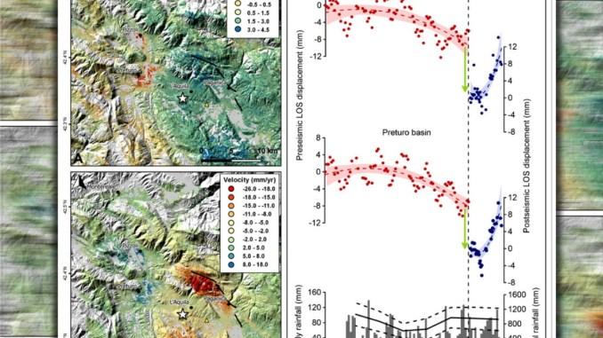 Osservata da satelliti deformazione prima terremoto dell'Aquila