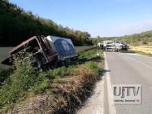 Incidente stradale mortale Perugia frontale auto furgone, muore donna (10)