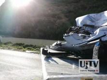 Incidente stradale mortale Perugia frontale auto furgone, muore donna (5)