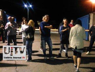 #IoDifendoLaPerugina, Movimento 5S davanti stabilimento Nestlè San Sisto
