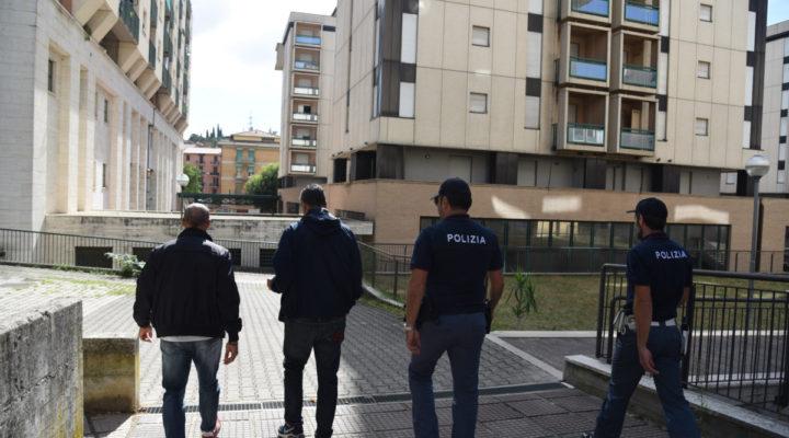 Polizia Via del Macello controlli Fontivegge (10)