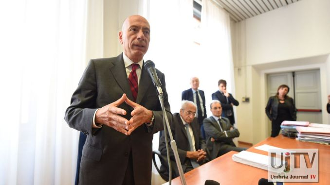 Aggressione giudici a Perugia, oggi l'assemblea dei magistrati [FOTO]