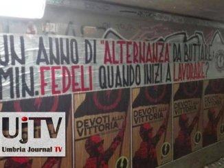 Blocco Studentesco protesta, flop in Umbria alternanza scuola-lavoro