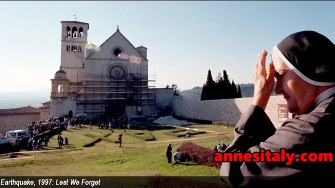 Sisma 1997, programma iniziative, arriva Presidente Mattarella
