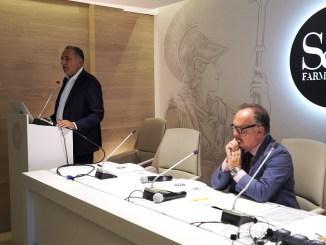 Da sinistra: Lucio Leonardi, Vincenzo Mirone