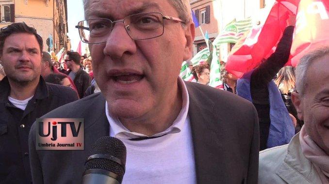 Ricostruzione post terremoto, arriva Maurizio Landini a Norcia e Spoleto