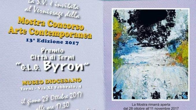 A Terni Mostra di Arte Contemporanea George Gordon Byron