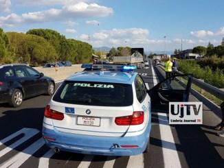 Bastia, incidente stradale su 75 Centrale Umbra, nessun ferito ma strada bloccata
