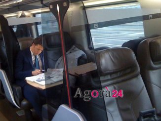 Matteo Renzi e il treno del Pd arriva in Umbria, a Narni e Spoleto