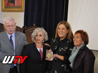 """Catiuscia Marini riceve il premio fondazione """"Peres center for peace"""""""