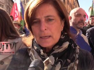 Presidente Donatella Porzi, Perugina, posti di lavoro da tutelare