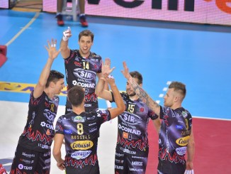 Volley, Sir Safety, si vola in finale con Trento, domani sfida alla Lube per la supercoppa