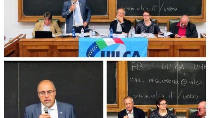 Crescita dell'usura in Umbria e in Italia convegno Uilca Uil
