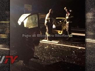 Incidente stradale sulla E45 all'altezza di Collestrada, tre feriti, due gravi