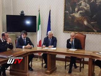 Infiltrazione criminale, a Perugia firmato il protocollo tra Comune e Prefettura