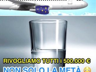 Blu Jet Fly Volare Sase, Ricci, basta promesse ridiano tutti i 500.000 euro