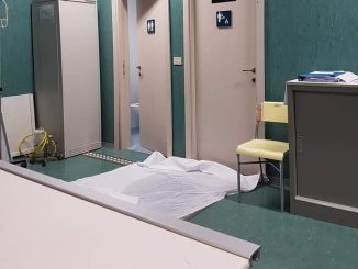 Piove dentro l'ospedale di Città di Castello, Lega fa interpellanza
